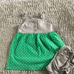 Baby girl Carter's sundress w/matching bloomers